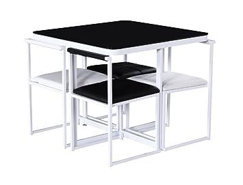 HGG U2013 Stowaway Esstisch Und Stühle U2013 Küche Tisch Und Stühle Für Kleine Räume  U2013 Space