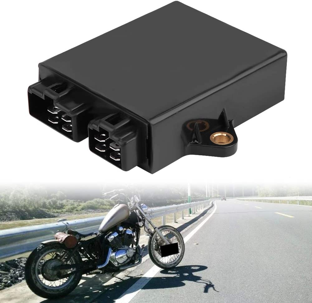 Schwarz Cdi Box Zündsteuergerät Cdi Zündsteuergerät Für Yamaha Virago Xv125 Xv250 V Star 250ccm 4rf 82305 00 Auto