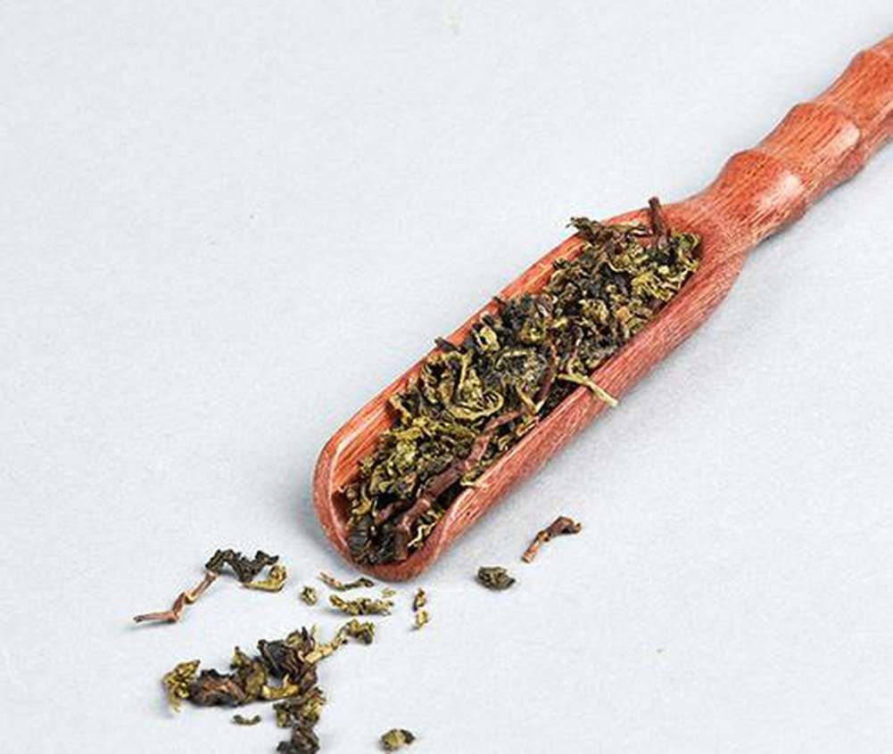 Coffee Teflon Teaspoon Tea Chops Tea Accessories Chicken Winged Bamboo Tea Scoop by Gentle Meow (Image #2)