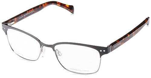 Tommy Hilfiger Brille TH 1306 VJC in der Farbe schwarz silber / havanna braun