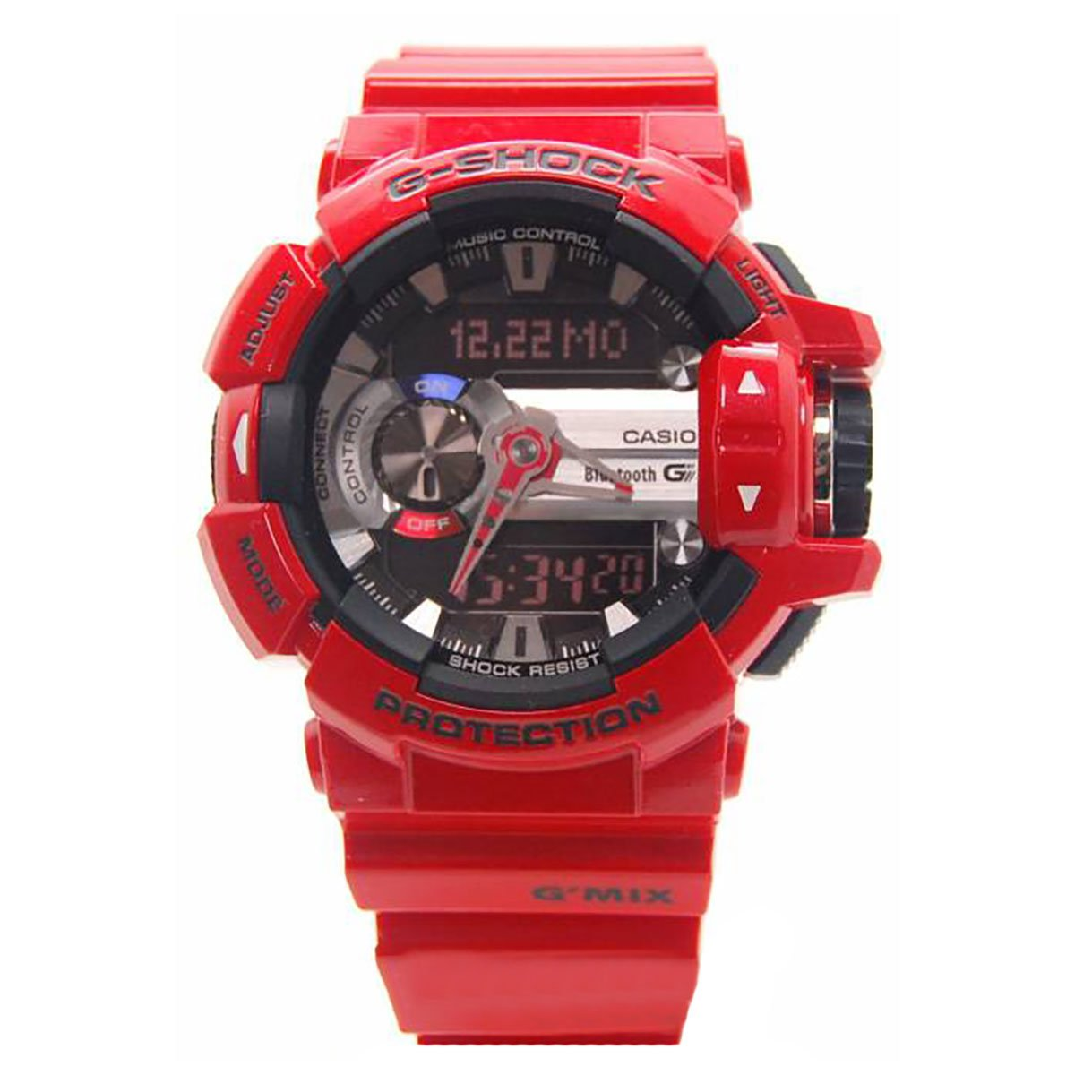 Casio G-Shock GBA400-4A Classic Series Stylish Watch – Red Black One Size