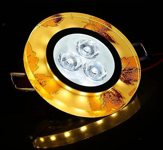 Pasillo salón lámpara de techo lámpara de araña de cristal ...