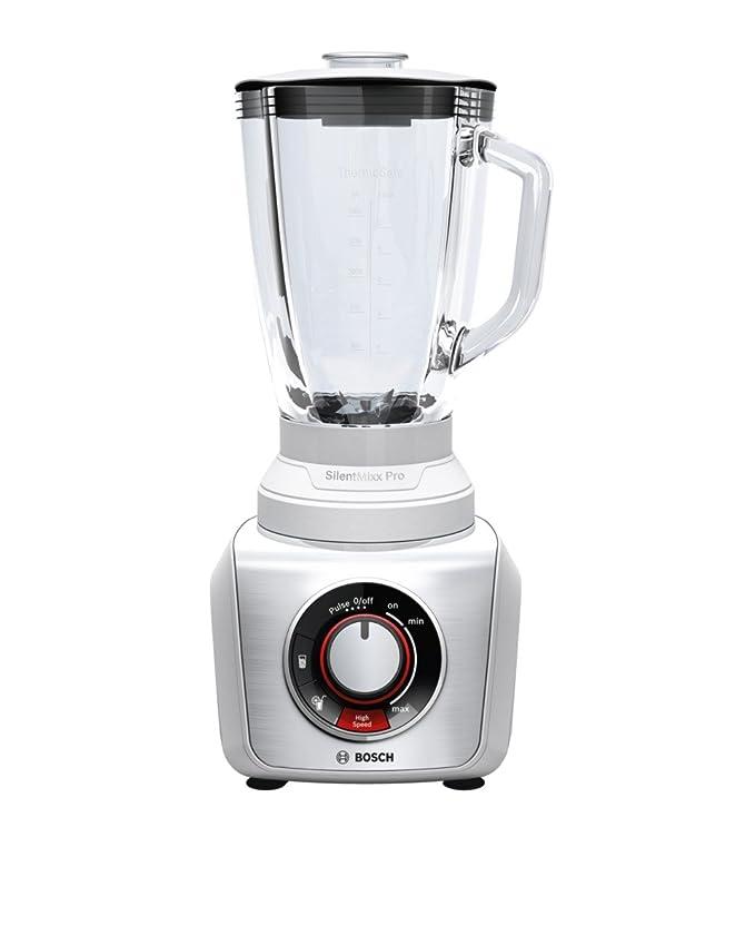 Bosch MMB66G5M - Licuadora (2,3 L, Continuo, 1,5 L, Batidora de vaso, Acero inoxidable, Vidrio)
