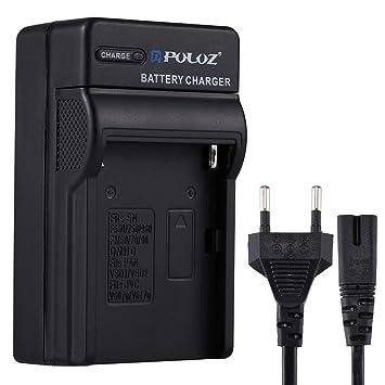 Cargadores de Camara PULUZ EU Plug Cargador de batería con ...