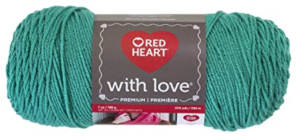 Cerulean Red Heart With Love Yarn