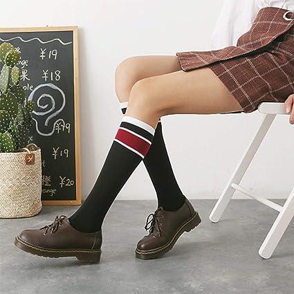 Calcetines, Calcetines por Encima de la Rodilla, Color Matching Women, Calcetines Largos de