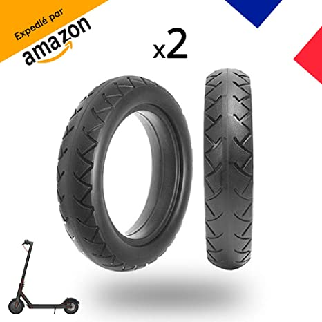Magicbike® - 2 neumáticos macizos de 8,5 pulgadas, de gran calidad y resistentes a los pinchazos, para patinete eléctrico Xiaomi M365