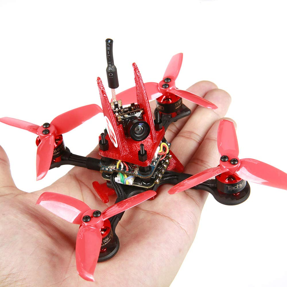 TechnQ Kit de Marco de Carreras FPV de Fibra de Carbono de 3 mm con Base de Rueda de 95 mm