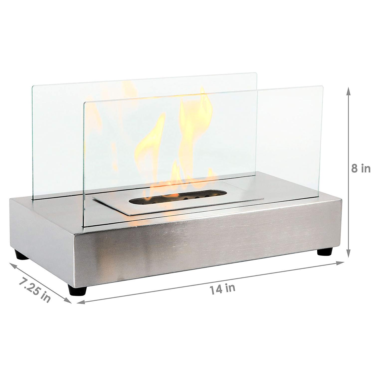 Cool Regal Flame Avon Ventless Indoor Outdoor Fire Pit Tabletop Portable Fire Bowl Pot Bio Ethanol Fireplace In Stainless Steel Realistic Clean Burning Download Free Architecture Designs Scobabritishbridgeorg
