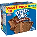 Kellogg's Pop-Tarts Frosted Toaster Pastries, Frosted Chocolate Fudge, 16 Count