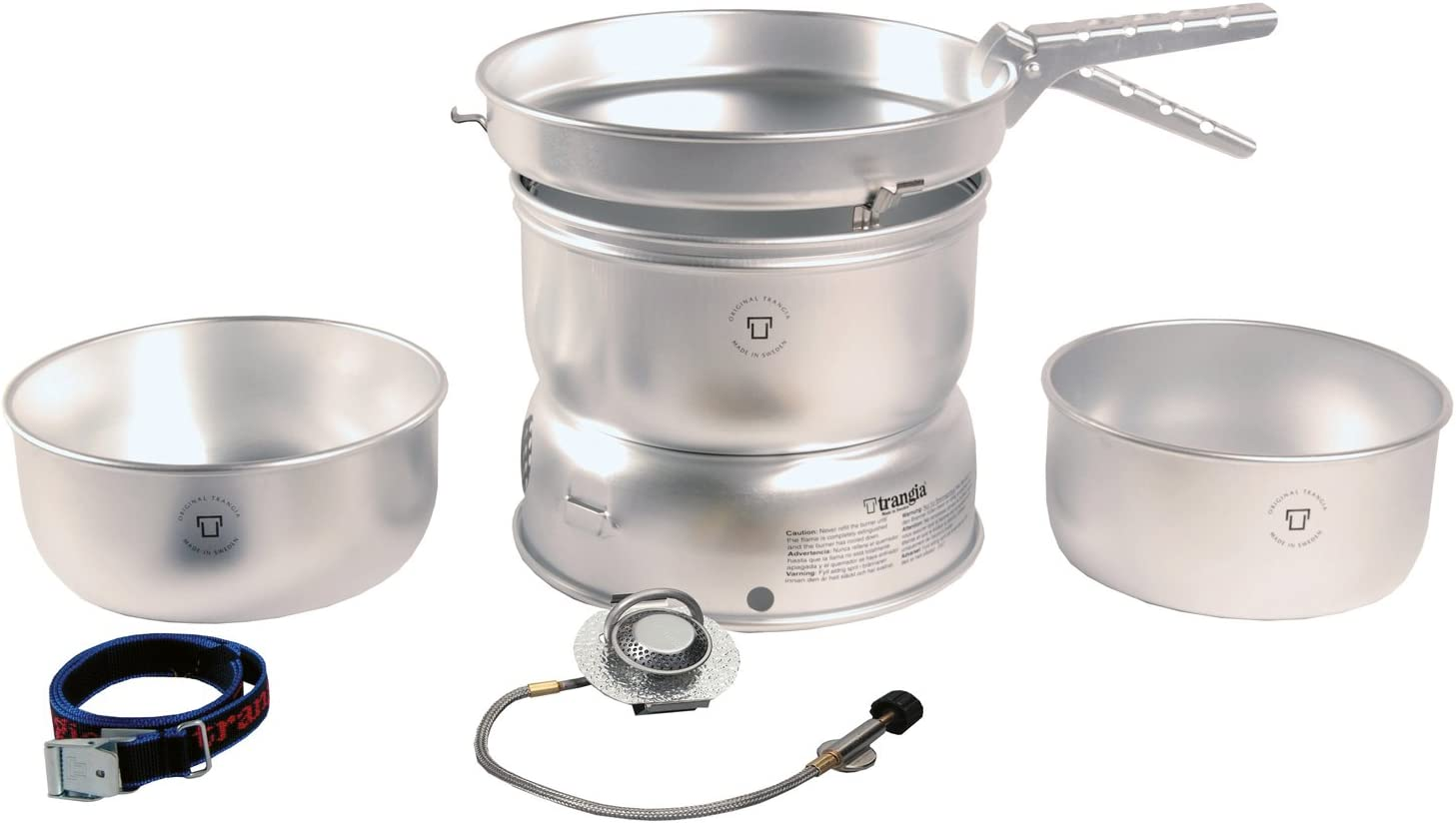 Trangia 27-1 Cooking System with Gas Burner Outdoors Cooking/Eating