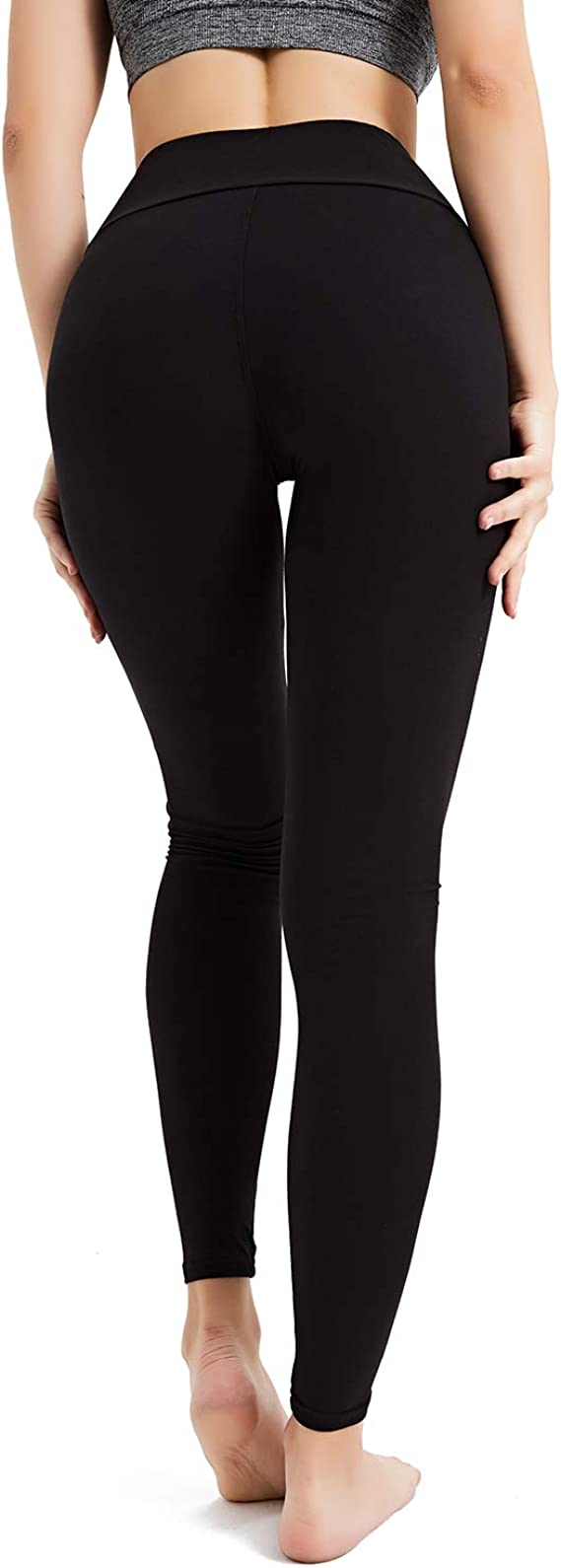 Blickdichte Sport Leggins f/ür Damen Yoga Tights 2 St/ück//Packung Sporthose Lang Yogahosen StarLifey Leggings Damen
