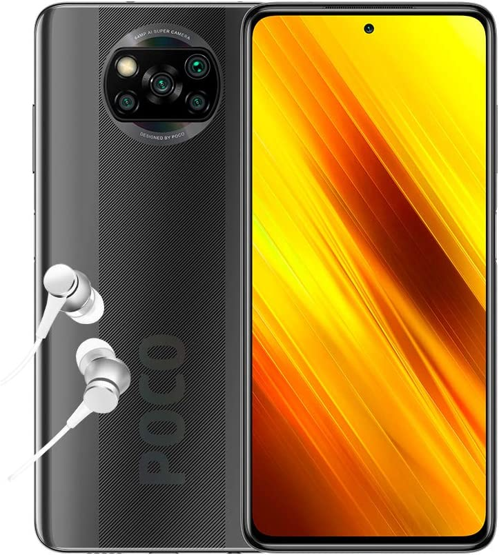POCO X3 – Smartphone 6 + 128 GB Shadow Grey um 258,32€