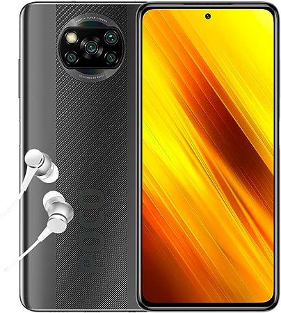 POCO X3 NFC- Smartphone 6+128GB, 6,67  FHD+ Punch-hole Display, Snapdragon 732G, 64MP AI Penta-Camera, 5160mAh, Shadow Gray (Official UK Version + 2 Years Warranty)