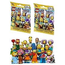 2 Packs LEGO Minifigures The Simpsons SERIES 2 71009 Figure Building Kit