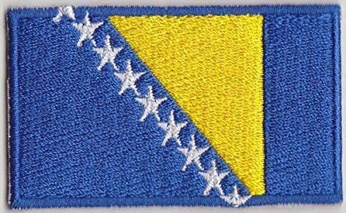 Bosnia Country Flag Embroidered Patch T4 LetsCollect-it