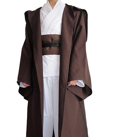 shoperama OBI-WAN Kenobi Capa para Star Wars Hombre Disfraz de