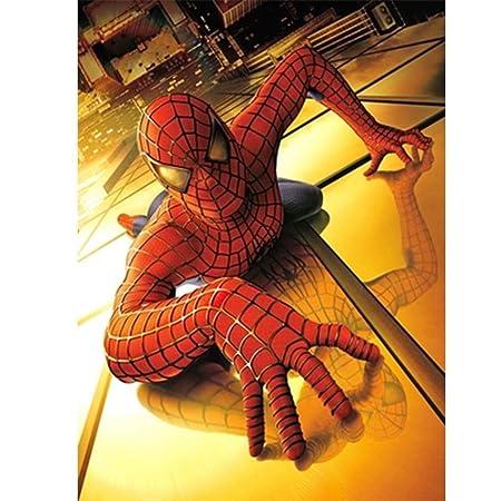 AMY-ZW El Hombre Araña Rompecabezas Comics Marvel Los ...
