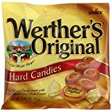 Werther's Original Caramel Hard Candy Bags (2.65 oz) - 12 Ct. case