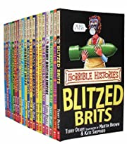 Horrible Histories Collection 20 Books Set…