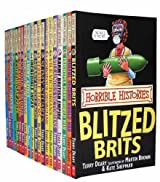 Horrible Histories Collection 20 Books Set Pack RRP: £120.00 (Savage Stone Age, Awesome Egyptians, Groovy Greeks, Rotten Romans, Cut-Throat Celts, Smashing Saxons, Vicious Vikings, Stormin Normans , Angry Aztecs, Incredible Incas, Measly Middle Age.) (Horrible Histories Collection)