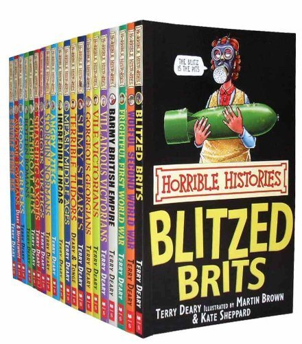 Horrible Histories Collection 20 Books Set Pack