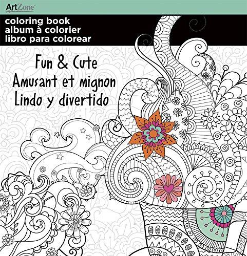 - Trends International  Mini Coloring Book Fun & Cute