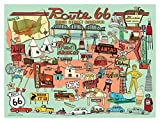 "True South ""Route 66"" 500 pc Jigsaw Puzzle, 18x24 inches"