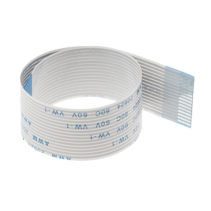 Baoblaze 15pin pitch Flat Ribbon Extended Cable for the Raspberry Pi Camera 50CM