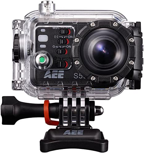 AEE-S50 Camara de Video Videocamara Bicicleta Camara para Deportes ...