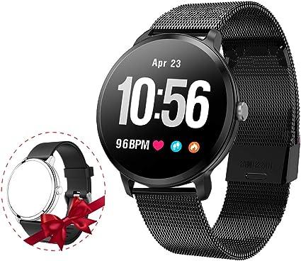 Amazon.com: Reloj inteligente con monitor de ritmo cardíaco ...