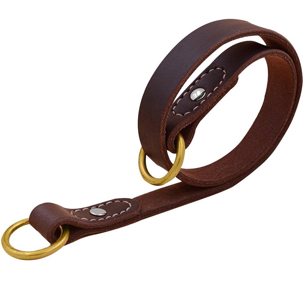 Pet Collar, Dog Collar, Leather, Cowhide Leash, Rivet, Bite-Proof, Dog Collar, Pet Supplies