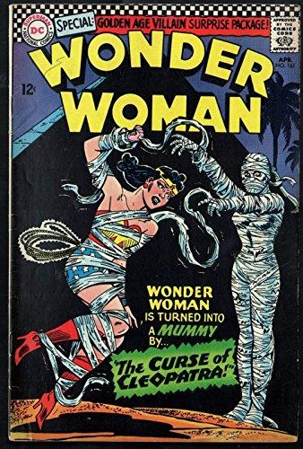 Wonder Woman #161 FN Curse of Cleopatra