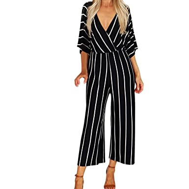 Amazon com: Love & Freedome 2019 Women Jumpsuit Summer Casual Wide