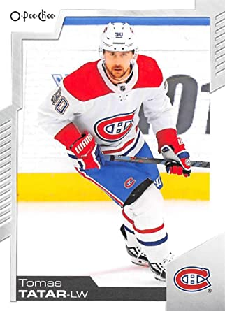 Amazon Com 2020 21 O Pee Chee 345 Tomas Tatar Montreal Canadiens Hockey Card Collectibles Fine Art