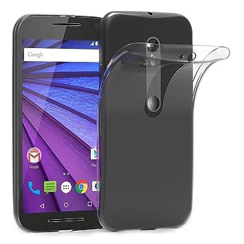 AICEK Funda Motorola Moto G3, Motorola Moto G 3rd (3ª Generación) Funda Transparente Gel Silicona Moto G 3 Premium Carcasa para Motorola Moto G3 5