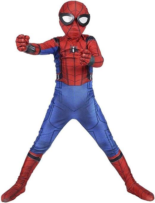 HUIHONG Niño Spiderman Disfraz Halloween Carnaval Cosplay Fiesta ...
