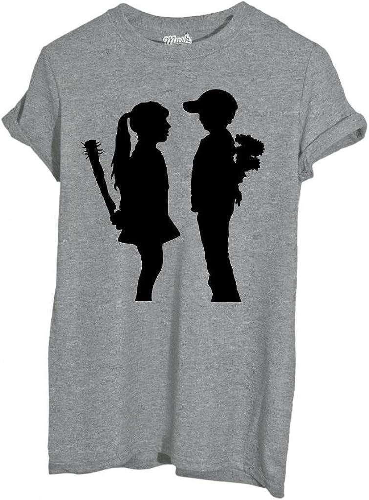 Famosi by Dress Your Style MUSH T-Shirt Banksy Bambini