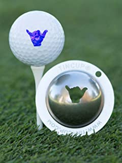 product image for Tin Cup Hang Loose Golf Ball Custom Marker Alignment Tool