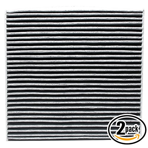 2-Pack Replacement Cabin Air Filter for 2017 HONDA ACCORD L4 2.4L 2356cc 144 CID Car/Automotive - Activated Carbon, ACF-10134