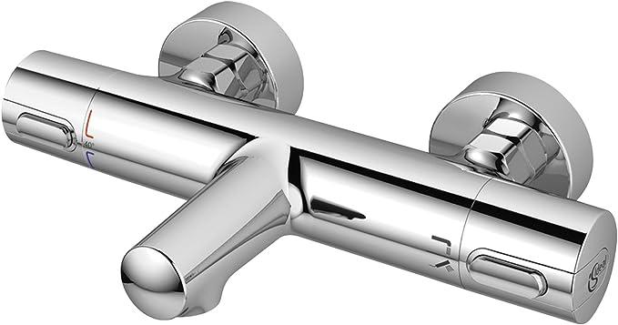 Ideal Standard A4888AA Ceratherm 100 New Miscelatore termostatico ad incasso individuale con deviatore per vasca//doccia