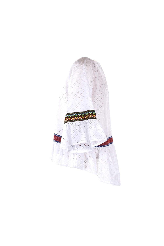 GAELLE Blusa Cotone Bianco