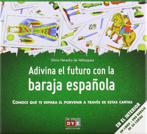 ADIVINA EL FUTURO CON BARAJA ESPAÑOLA: Varios: 9788431553791 ...