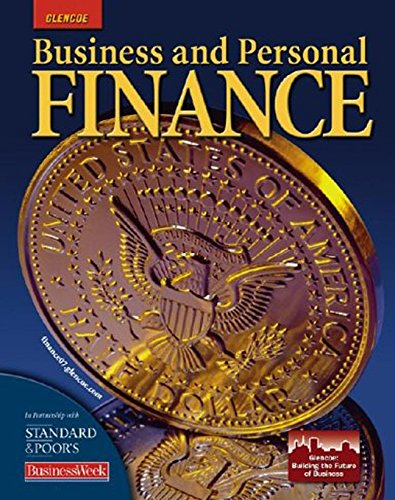 Business and Personal Finance, Student Edition (PERSONAL FINANCE (RECORDKEEP))