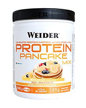 Weider Protein Pancake Mix Vainilla. Tortitas de harina de avena ...