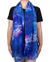 "Scarfs for Women Christmas Warm Fashion Scarf Blue Size:70""X27.5"""