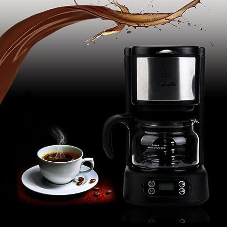 coohole hxs-bsd02 5-cup Home Cafetera eléctrica con función para ...
