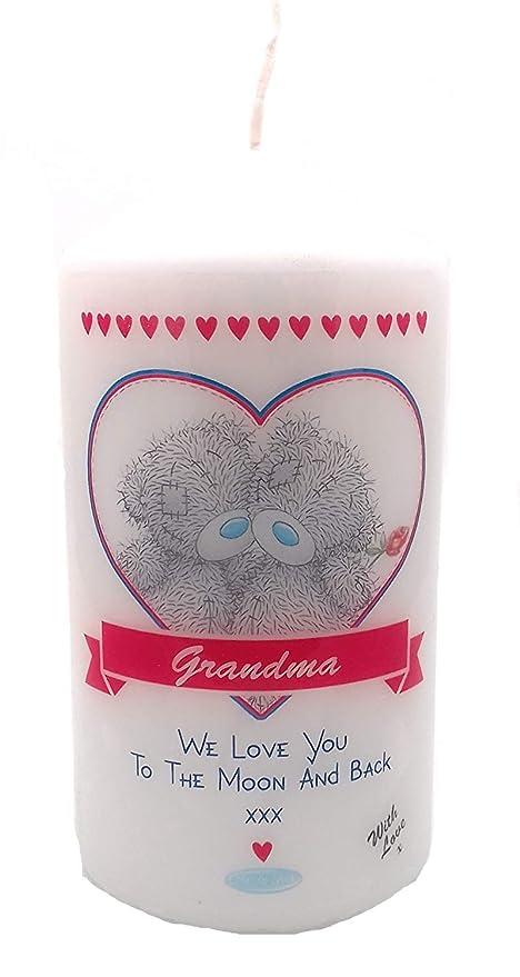 Abuela We Love You To The Moon And Back Regalo de recuerdo ...