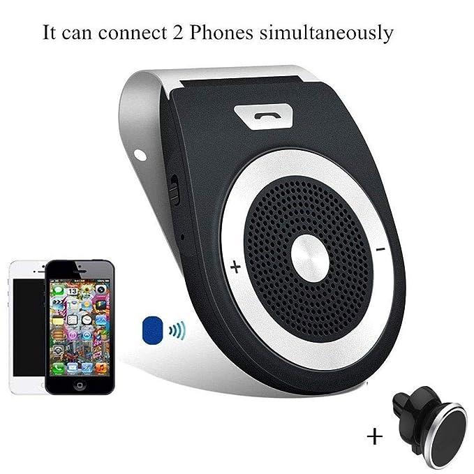 Wireless Car Speakers >> Amazon Com Car Speaker Hands Free Wireless In Car Kit