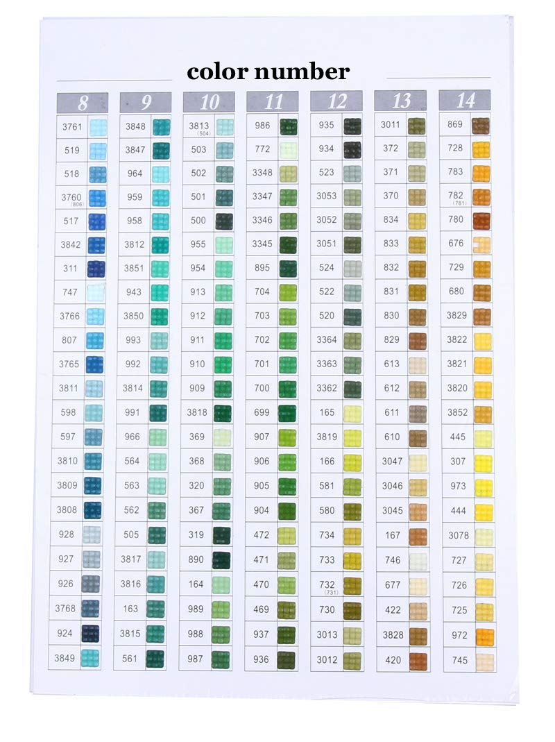 3787 Diamonds Square Drill Rhinestone Resin Diamond Painting Accessory 447 Colors Can Choose Color Accessory Wholesale Sales for 1 Bag=200 Pieces